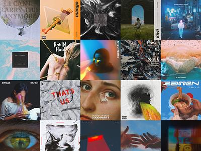 :) sleeve vinyl cd illustration abstract lp ep music covers portfolio cover art album