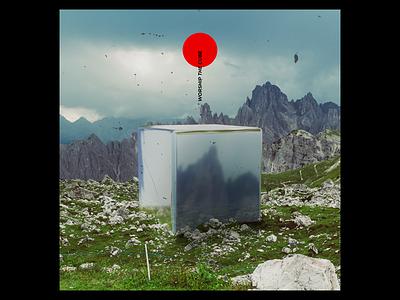 Experimenting #235 abstract vibrant scenery field lp cd ep minimal 3d sleeve vinyl cover art album