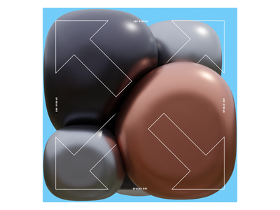 Ex.259 3d illustration album cover design abstract music sleeve cd lp ep design cover art album