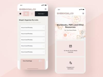 eLearning Platform Mobile