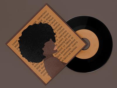 abstract album cover black woman album cover design album art typography music art music art album cover album artwork minimalist minimal design album