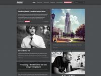 Journal Responsive WordPress Tumblog Theme