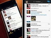 Timeline Android Twitter App