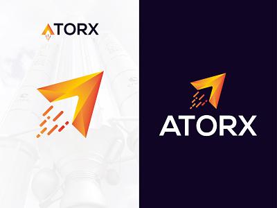 ATORX mordan icon mordan logo vector app icon applogo design flat logo graphic design branding