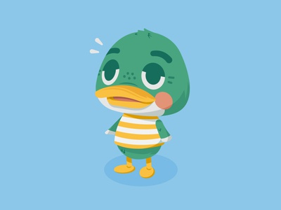 If i were an Animal Crossing character characterdesign videogames animal crossing nintendoswitch nintendo character graphicdesign color illustrator illustration vector design