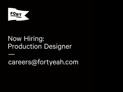 Production Designer Wanted