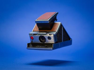 Floating Action magic camera vintage photography product sx-70 sx70 polaroid