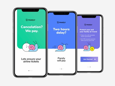 App Intro Slider for Panzly