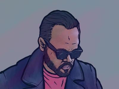 Self Portrait self portrait illustration procreate app