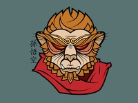 The Handsome Monkey King of Five Finger Mountain