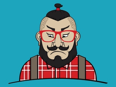 Too Many Topknots, Not Enough Samurai. hipster topknot