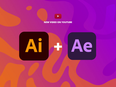 The best Ai + Ae Worfkflow motion tools aniamtion after effects effects after animation