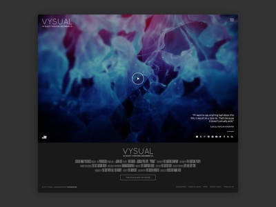 VYSUAL WordPress Theme wordpress movie film theme themeforest