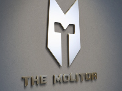 Logo Mockup Wall Display