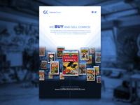 CollectorsComics Flyer WIP
