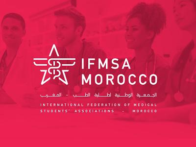 IFMSA Logo icon minimal branding logo design