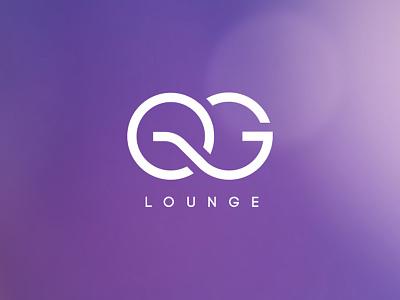 QG minimal monogram branding logo design