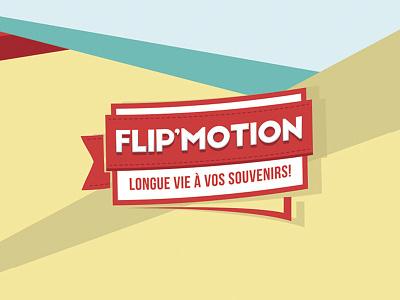 Flipmotion branding logo design