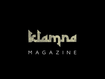 Klamna mag arabic minimal logotype branding logo design