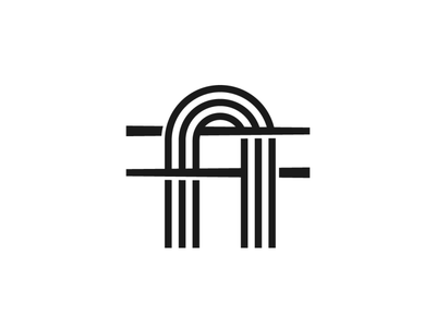 Letter A Noodle Logo retail cafe restaurant food a stick chopstick noodle minimalist modern initial alphabet letter illustration exclusive vector logo branding design