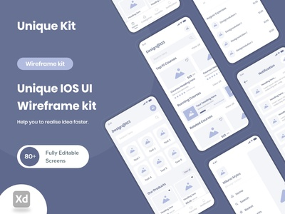 Unique IOS UI Wireframe kit designsolution fima design userflow component mobile app hign fidelity branding low fidelity uiux application wireframe kit clean ios app design design wireframe ui kit wireframe