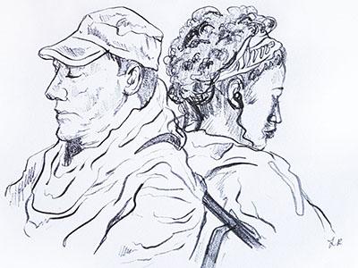 More Train Sketches