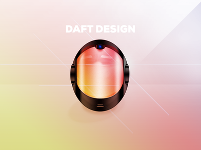Daft Design (My Daft Punk Helmet) daft punk design punk daft fun photoshop chrome random access memories