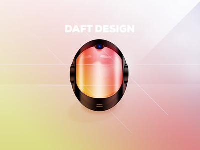 Daft Design (My Daft Punk Helmet) daft punk design punk daft fun photoshop chrome random access memories