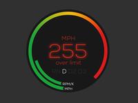 Speed Gauge - Car UI
