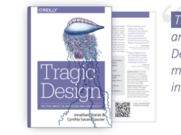 My book Tragic Design is released!