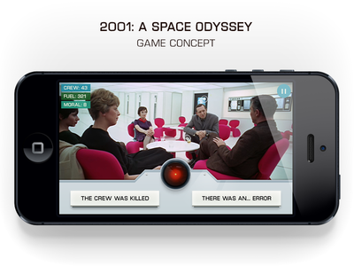 2001: A Space Odyssey Game Concept