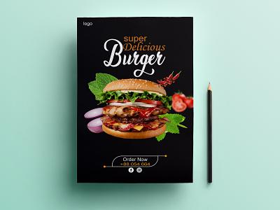 Restaurant Food Flyer Design restaurant food flyer adobe photoshop