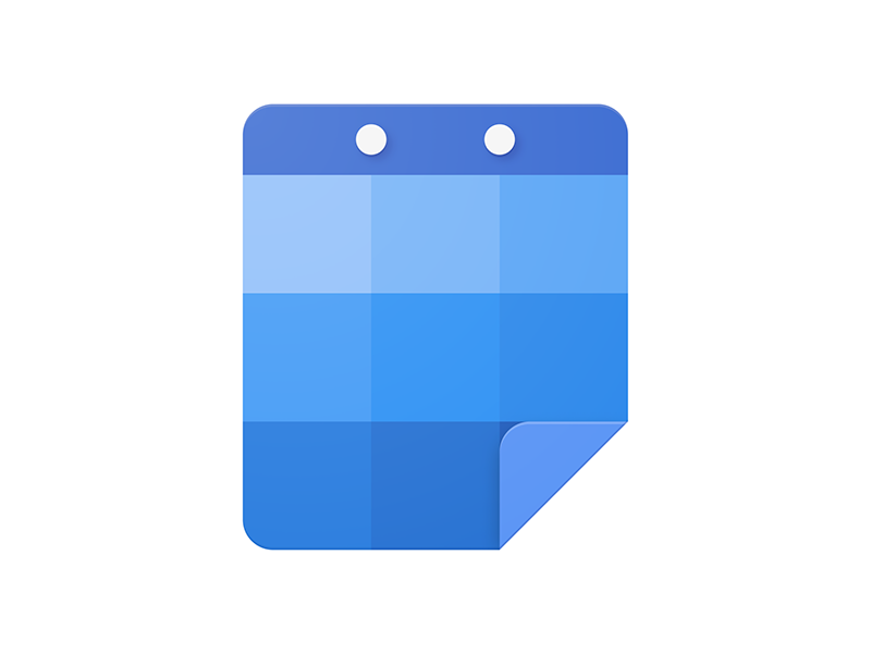 Calendar Product Icon Concept By Tom Wellington