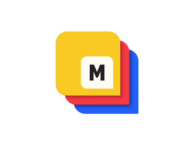 Mongoblock m stack logo blocks mongo ico blockchain