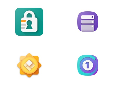 2018 - Top four icon design year of icons 2018 top4shots