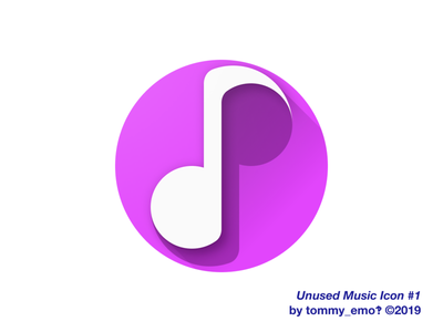 Music Icon #1 color purple icon design icongraphy app icon icon material symmetry music note note music art deco abstract