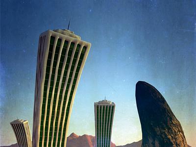 Stonescape contemporaryart concept art rocks design abstract art cinema 4d 3d art