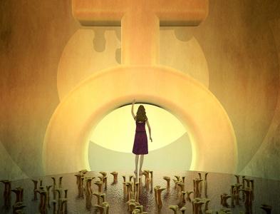 WOMEN GOALS c4d design illustration contemporaryart concept art cinema 4d abstract art 3d art womens day