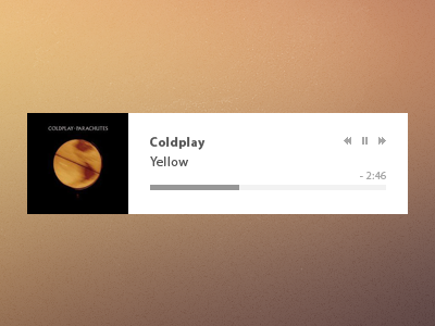 Music player no style