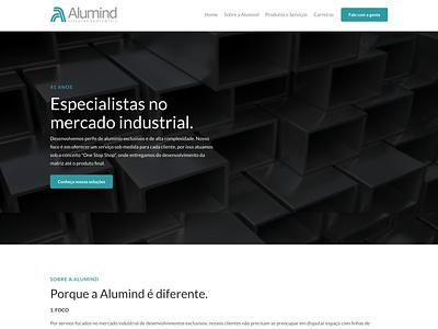 Website Alumind web design