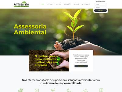 Website Ambientalle web design