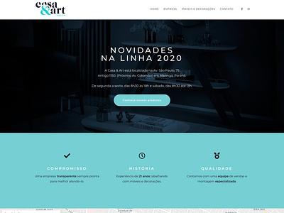 Website Casa&Art Decor web design