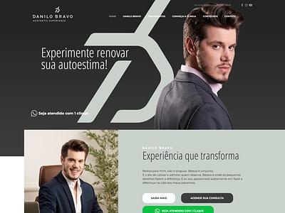 Website Danilo Bravo web design