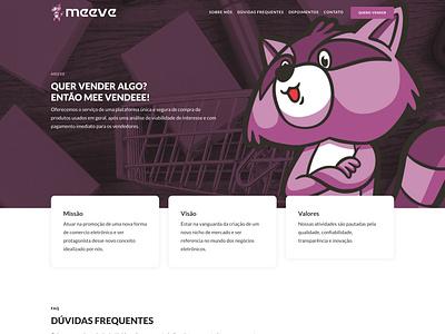 Website Meeve web design