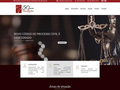 Website R.Vermelho web design