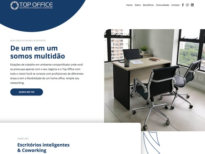 Website Top Office web design