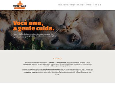 Website Tutti Cane web design