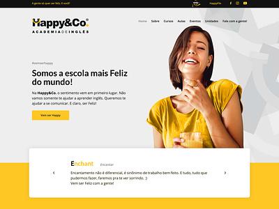 Website Happy&Co. web design