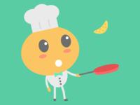 OrangeNow Designs 3/10 - Mr. Orange Cooking