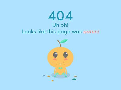 OrangeNow Designs 10/10 - 404 website illustrator 404 page characters illustrations branding